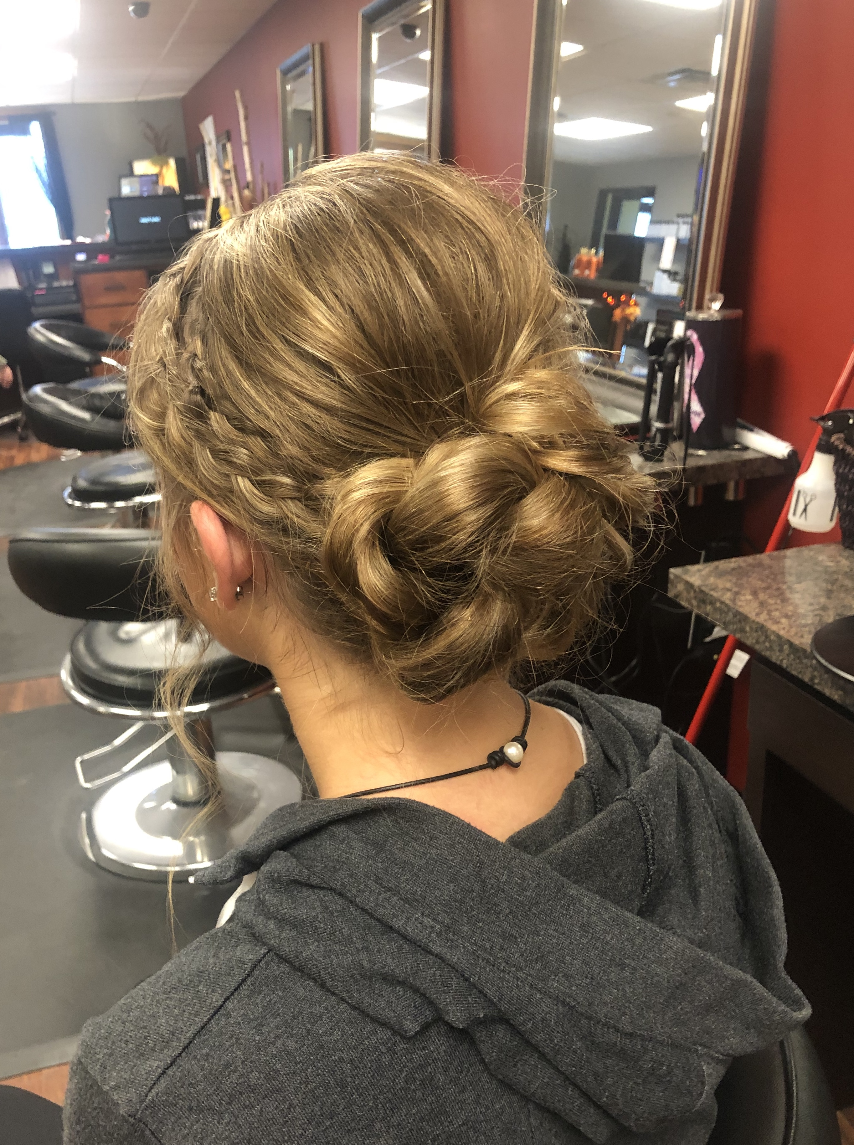 Updo by Greer
