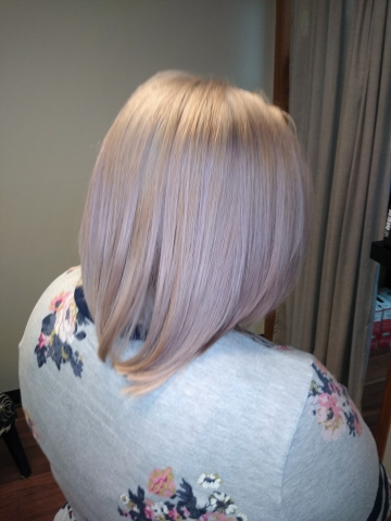 Lavender Grey color by Kayla