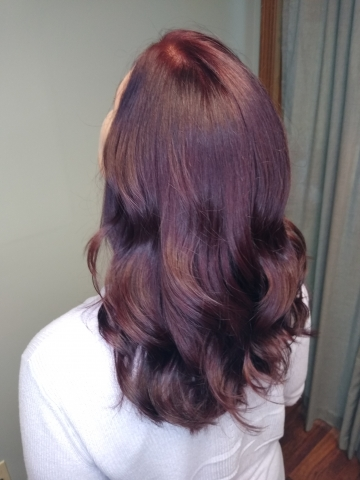 Maroon color by Kayla
