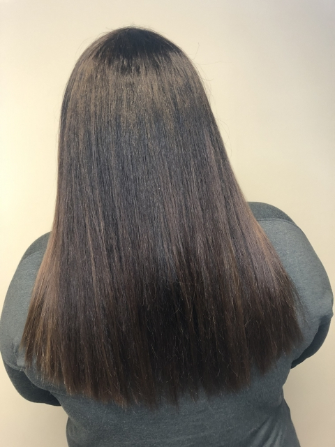 Sleek dark brown color by Christa