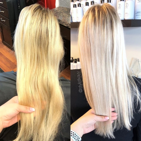 cleaning up blondes by kay
