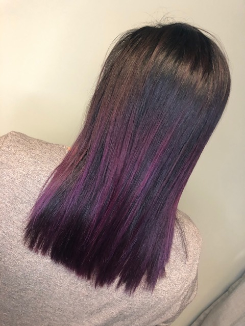 purple ombre by Kayla